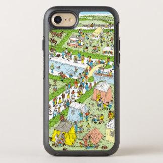 Coque Otterbox Symmetry Pour iPhone 7 Là où est le terrain de camping de Waldo