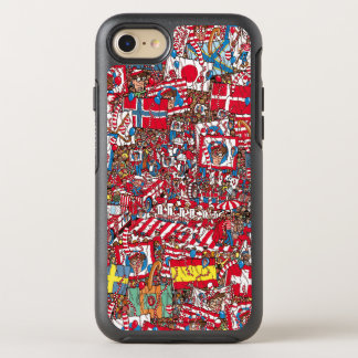 Coque Otterbox Symmetry Pour iPhone 7 Là où est Waldo énorme Party