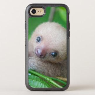 Coque Otterbox Symmetry Pour iPhone 7 La plupart de photo célèbre de paresse de bébé -