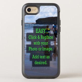 Coque Otterbox Symmetry Pour iPhone 7 Le clic simple et remplacent la photo pour créer