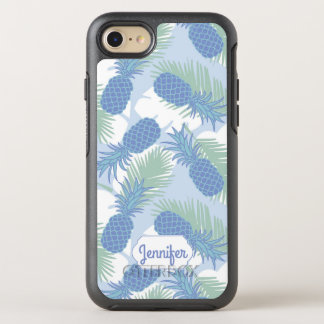 Coque Otterbox Symmetry Pour iPhone 7 Le motif en pastel tropical | d'ananas ajoutent