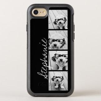 Coque Otterbox Symmetry Pour iPhone 7 Les 4 photos à la mode et le nom - CHOISISSEZ LA