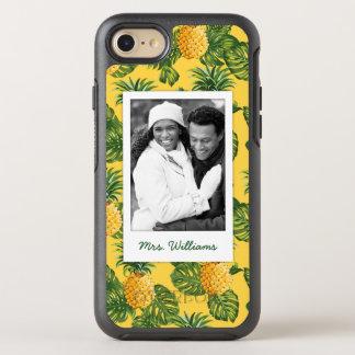Coque Otterbox Symmetry Pour iPhone 7 Les ananas et le feuille   ajoutent votre photo et
