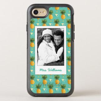 Coque Otterbox Symmetry Pour iPhone 7 Les ananas   géométrique ajoutent votre photo et