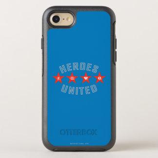 Coque Otterbox Symmetry Pour iPhone 7 Les héros de ligue de justice ont délié des logos