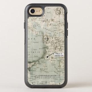 COQUE OTTERBOX SYMMETRY POUR iPhone 7 L'ESPACE : LUNE MAP, 1972