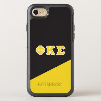 Coque Otterbox Symmetry Pour iPhone 7 Lettres de Grec du sigma | de Kappa de phi