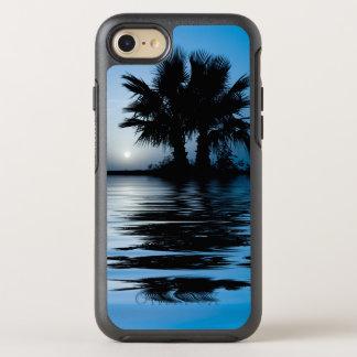 Coque Otterbox Symmetry Pour iPhone 7 Lever de soleil tropical bleu