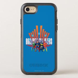 """Coque Otterbox Symmetry Pour iPhone 7 Ligue de justice """"contre toute attente """""""