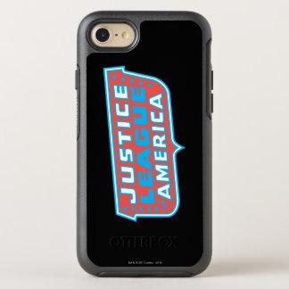 Coque Otterbox Symmetry Pour iPhone 7 Ligue de justice de logo de l'Amérique