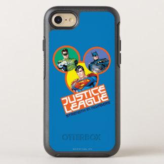 """Coque Otterbox Symmetry Pour iPhone 7 Ligue de justice """"force dans les nombres """""""
