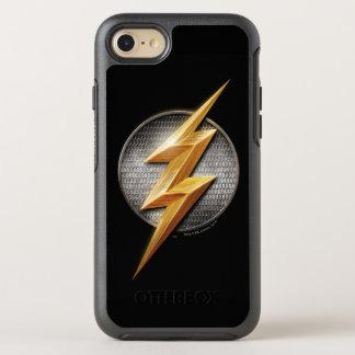 Coque Otterbox Symmetry Pour iPhone 7 Ligue de justice | le symbole métallique