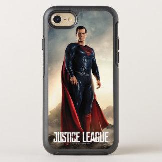 Coque Otterbox Symmetry Pour iPhone 7 Ligue de justice | Superman sur le champ de