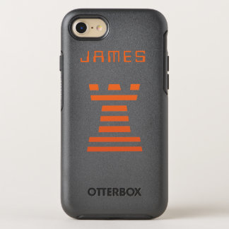 Coque Otterbox Symmetry Pour iPhone 7 L'iPhone de ChessME ajoutent le nom