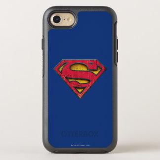 Coque Otterbox Symmetry Pour iPhone 7 Logo affligé par | de S-Bouclier de Superman