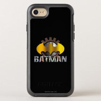 Coque Otterbox Symmetry Pour iPhone 7 Logo d'arrière - plan de vitesse de Batman  