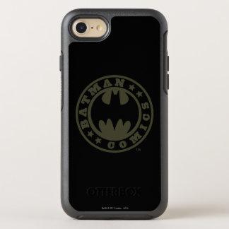 Coque Otterbox Symmetry Pour iPhone 7 Logo de bandes dessinées du symbole | de Batman
