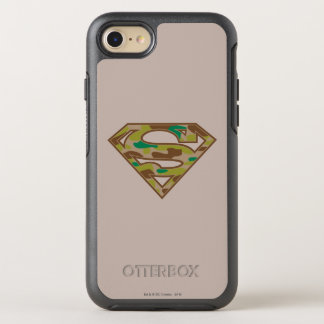 Coque Otterbox Symmetry Pour iPhone 7 Logo de camouflage du S-Bouclier | de Superman