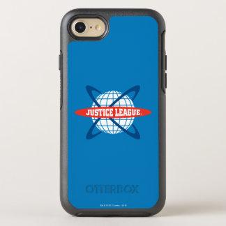 Coque Otterbox Symmetry Pour iPhone 7 Logo de globe de ligue de justice