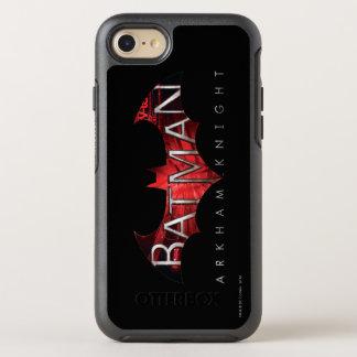 Coque Otterbox Symmetry Pour iPhone 7 Logo de rouge de chevalier de Batman Arkham