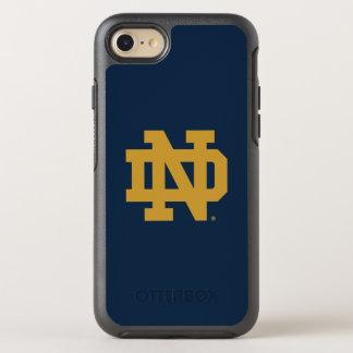 Coque Otterbox Symmetry Pour iPhone 7 Logo d'emblème de Notre Dame |