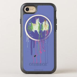 Coque Otterbox Symmetry Pour iPhone 7 Logo pourpre 2 de cercle du symbole | de Batman