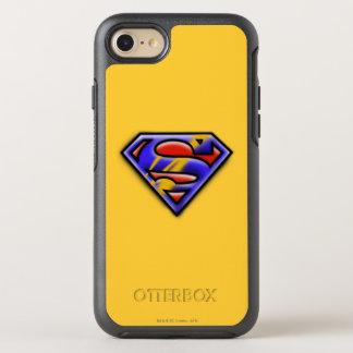 Coque Otterbox Symmetry Pour iPhone 7 Logo pourpre d'aerographe du S-Bouclier | de