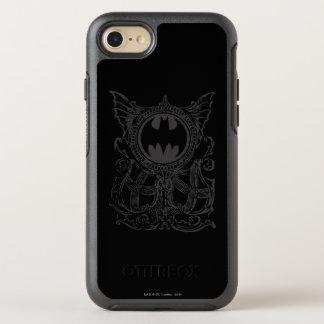 Coque Otterbox Symmetry Pour iPhone 7 Logo urbain de blanc de noir de légendes du