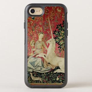 """Coque Otterbox Symmetry Pour iPhone 7 Madame et la licorne : """"Vue"""" 2"""