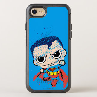 Coque Otterbox Symmetry Pour iPhone 7 Mini croquis de Superman - vol