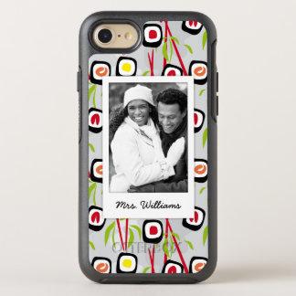 Coque Otterbox Symmetry Pour iPhone 7 Monogramme du motif | de conception de sushi
