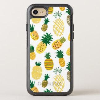 Coque Otterbox Symmetry Pour iPhone 7 Motif à la mode d'ananas