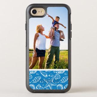 Coque Otterbox Symmetry Pour iPhone 7 Motif bleu de plage de photo