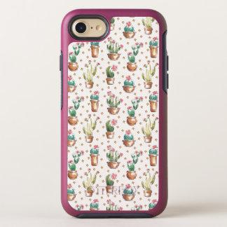 Coque Otterbox Symmetry Pour iPhone 7 Motif de fleur d'étape | de fleur de désert