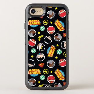 Coque Otterbox Symmetry Pour iPhone 7 Motif de héros et de logos de ligue de justice de