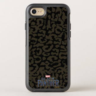 Coque Otterbox Symmetry Pour iPhone 7 Motif de panthère de la panthère noire | Erik