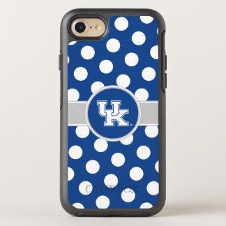 Coque Otterbox Symmetry Pour iPhone 7 Motif de point BRITANNIQUE de polka du Kentucky  