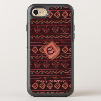 Coque Otterbox Symmetry Pour iPhone 7 Motif tribal de Boho avec la personnalisation