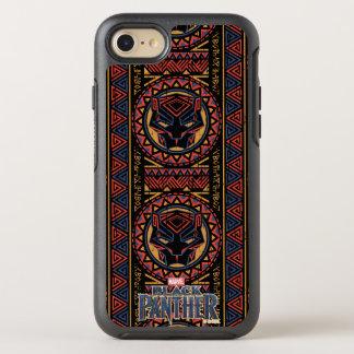 Coque Otterbox Symmetry Pour iPhone 7 Motif tribal de tête de panthère de la panthère