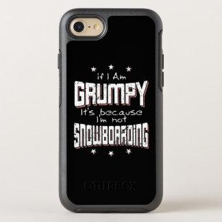 Coque Otterbox Symmetry Pour iPhone 7 NE PAS FAIRE DU SURF DES NEIGES GRINCHEUX (blanc)