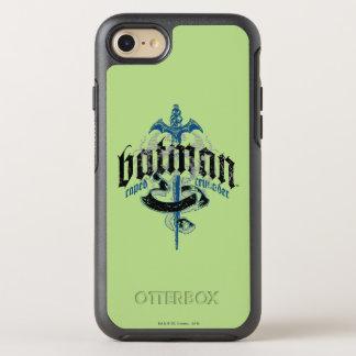Coque Otterbox Symmetry Pour iPhone 7 Nom de Batman | avec le logo d'épée