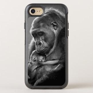 Coque Otterbox Symmetry Pour iPhone 7 Nouveau gorille de mère