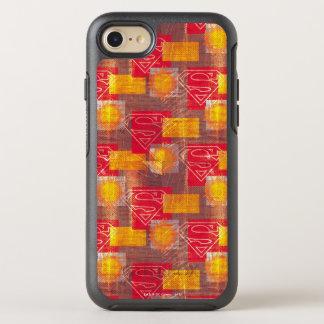 Coque Otterbox Symmetry Pour iPhone 7 Orange et rouge de bouclier