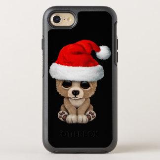 Coque Otterbox Symmetry Pour iPhone 7 Ours de bébé utilisant un casquette de Père Noël