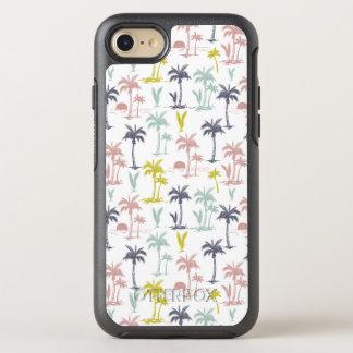 Coque Otterbox Symmetry Pour iPhone 7 Palmier en pastel par le motif de plage
