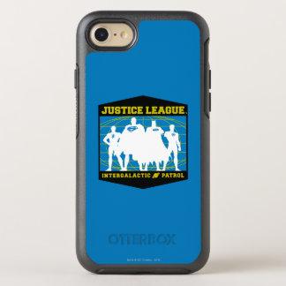 Coque Otterbox Symmetry Pour iPhone 7 Patrouille intergalactique de ligue de justice
