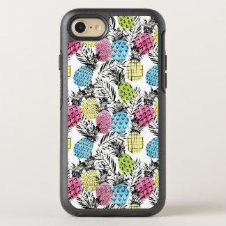 Coque Otterbox Symmetry Pour iPhone 7 Paumes de grunge d'ananas