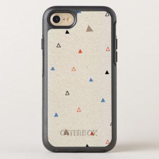Coque Otterbox Symmetry Pour iPhone 7 Petit cas mignon d'OtterBox d'iPhone de triangles