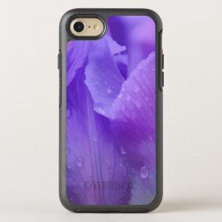 Coque Otterbox Symmetry Pour iPhone 7 Photographie pourpre élégante de tulipe