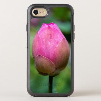 Coque Otterbox Symmetry Pour iPhone 7 Plan rapproché de bourgeon floral de lotus, Bali